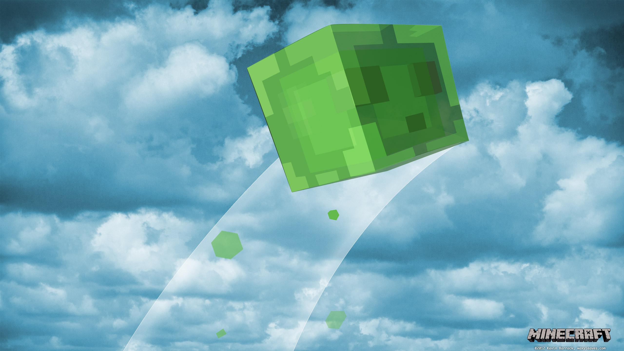 Cool Wallpaper Minecraft Simple - slimesky2560x1440  Snapshot_461999.jpg